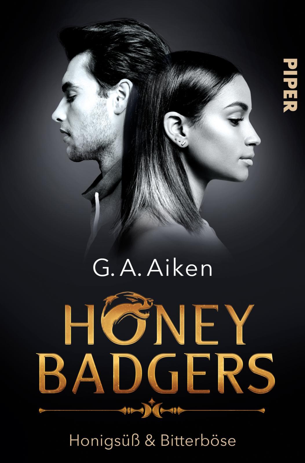 Cover: Honigsüß & bitterböse (G. A. Aiken)