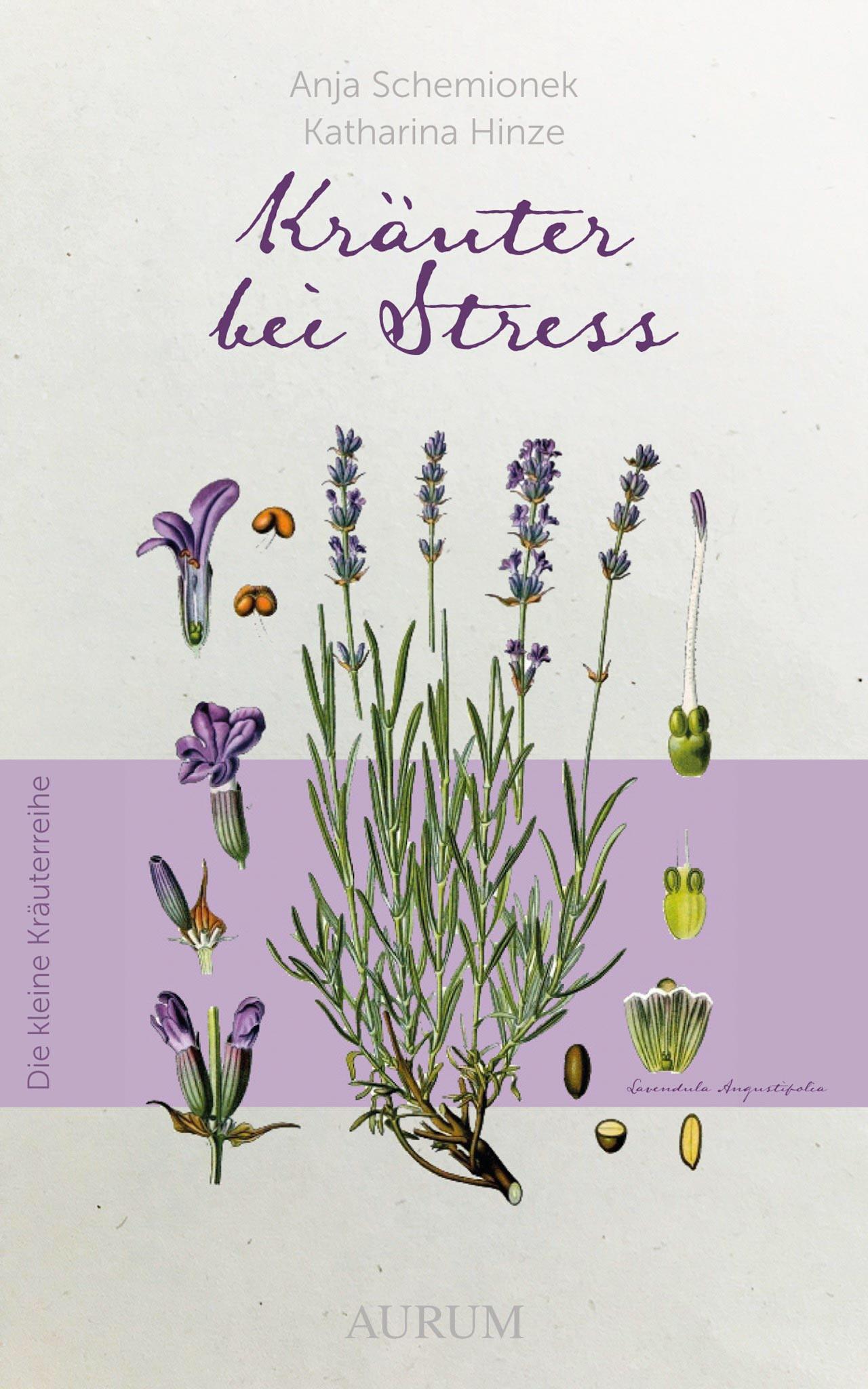 Cover: Kräuter bei Stress (Dr. Anja Schemionek & Katharina Hinze)